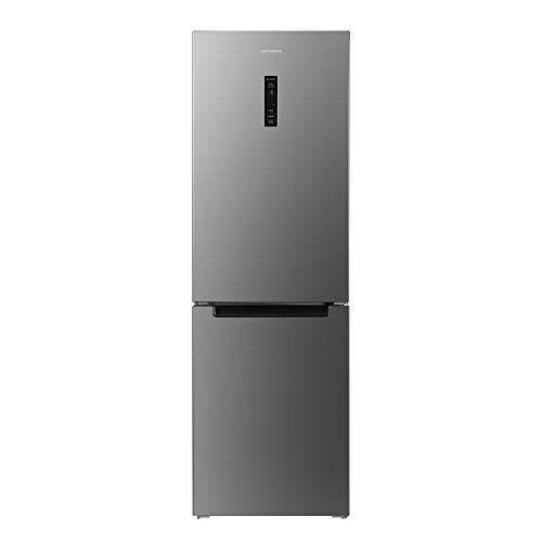 MEDION Kühl-Gefrierkombination / 317 Liter Gesamtinhalt / 222 Liter Kühlfach / 95 Liter Gefrierfach/No-Frost/wechselbarer Türanschlag/Touch-Display / MD37290