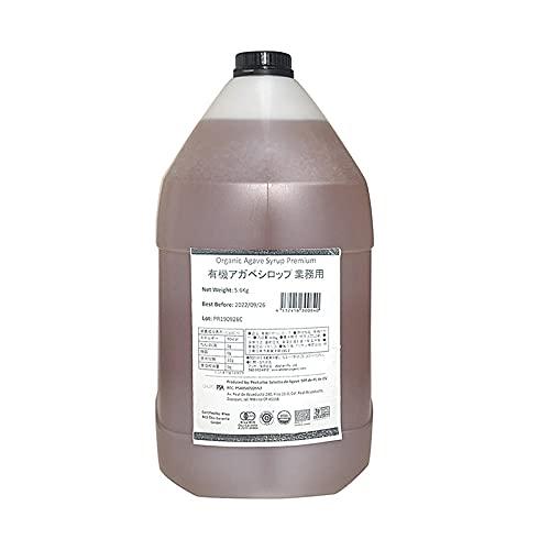 アリサン 有機アガベシロップ 4L(5.6kg) 1本