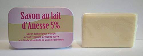 Jabón con leche de burra 100 gr 5%