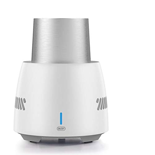 WSTERAO Refrigerador eléctrico portátil Protección termoeléctrica de la batería de refrigeración, Smart Touch Refrigeración del Coche Taza para Beber Congelador Refrigerador portátil