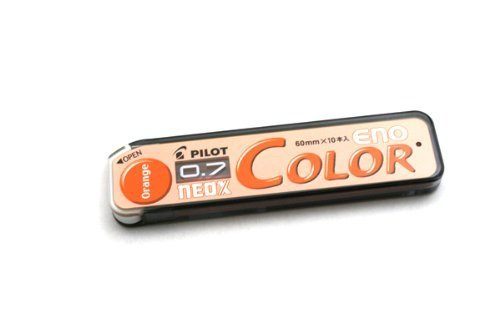 ネオックス カラーイーノ芯 0.7mm オレンジ HRF7C-20-O