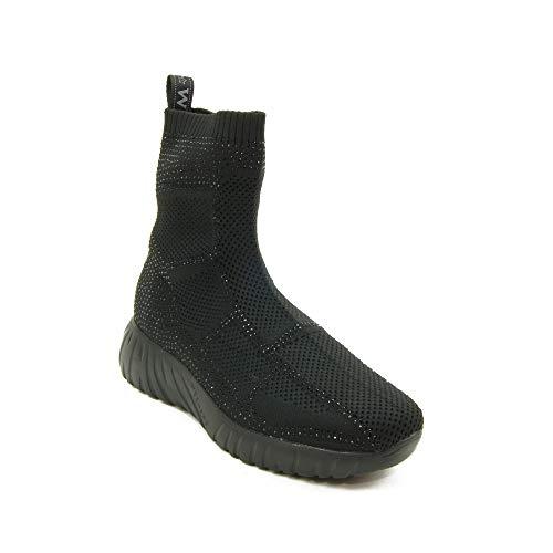 Weekend by PEDRO MIRALLES Zante 26079 Sock Negro.Zapatillas Deportivas de calcetín para Mujer. (Negro, Numeric_38)