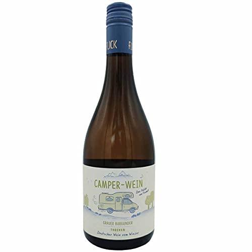 Wohnmobil-Wein/Camper-Wein 0,75l / Grauer Burgunder trocken Deutscher Qualitätswein