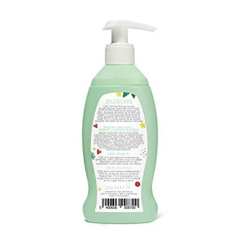 Marque Amazon- Mama Bear Gel nettoyant et shampooing pour bébé (Formule qui ne pique pas les...