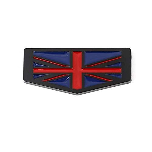 Emblema De Repuesto Etiqueta engomada del coche Italia Alemania Francia Inglaterra bandera emblema etiqueta calcomanías compatibles con BMW Audi Honda Opel Lada Toyota Chevrolet Ford Seat Nissan Etiqu