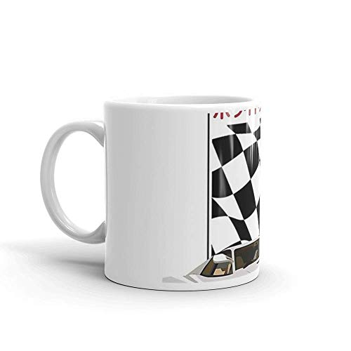 Lsjuee Fastest Mug 11 Oz White Ceramic