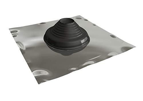 StoveMaestro Solin de toit pour toiture en tuiles, pour conduits et tuyaux de 110 mm à 200 mm de diamètre