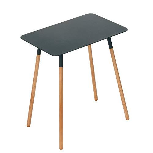 Yamazaki Side Table, Steel, Black, One Size