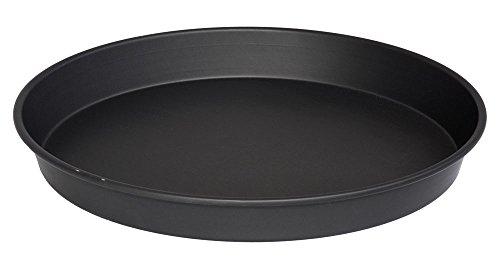 lloydpans X 2h76r-14X 2-pstk Deep Dish pizza Pan, 14'x 2', negro