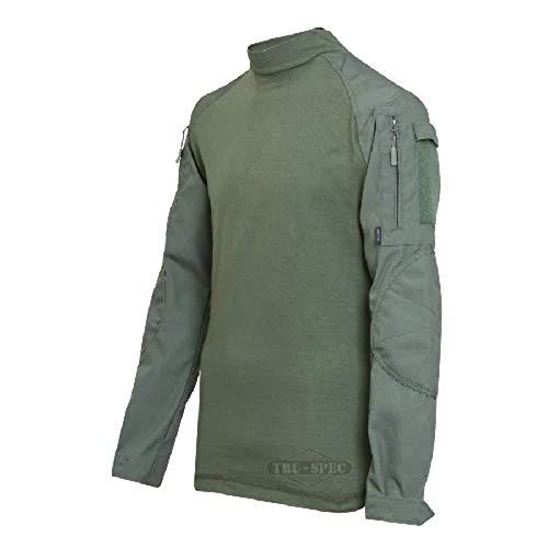Tru-Spec Atlanco 2553005 Tactique Réponse Uniforme Combat pour Homme, Large-Regular, Polyester/Coton, Olive
