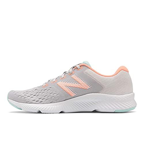 New Balance Women's DRFT V1 Running Shoe, Summer Fog/Ginger Pink, 10