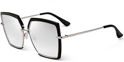ZYIZEE Gafas de Sol Gafas de Sol de Mujer Cuadradas Moda Mujer Hombre Gafas de Sol Uv400 Lente Transparente Gafas de Sol Vintage-3