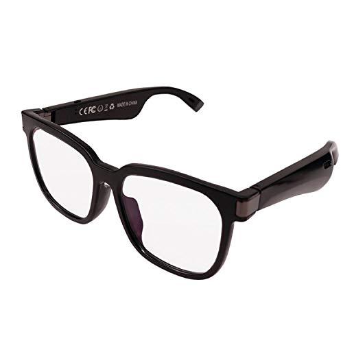 YUTAO Bluetooth-Funk-Headset-Sonnenbrille, offene Lautsprecher, intelligente Brille für sicheres Fahren und Navigation, neutrales Design, wasserdicht und langlebig sowie austauschbare Objektive