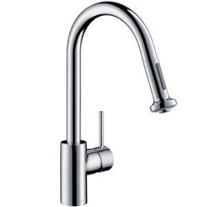 Hansgrohe 14877001 HG Talis S 2 Kitchen Faucet with Pull Down 2 Sprayer