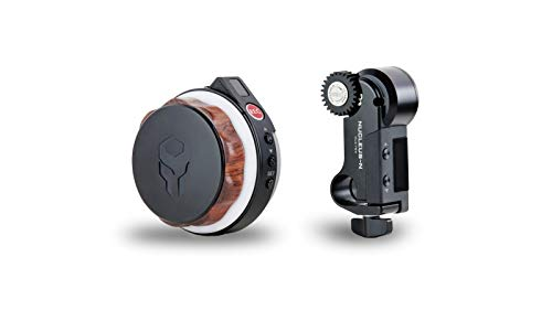 Tilta Nucleus-Nano Wireless Lens/Focus Control System WLC-T04 to Wirelessly Control The Focus of Most DSLR, Mirrorless Or Cine-Style Lenses On Cage, Gimbal Such As Ronin S