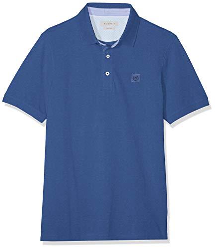 Bugatti Herren 8150-35021 Poloshirt, Blau (Blau 360), Medium
