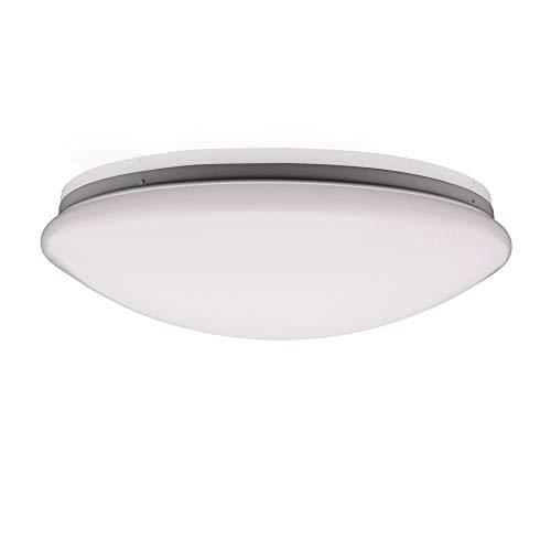 Ronde lamp 32 W LED-badlamp met bewegingsmelder + daglichtsensor IP44 wand- en plafondlamp 230 V AC voor droogruimte, verlichting thuis, kantoor, trappenhuis