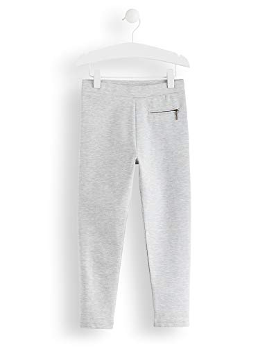 Amazon-Marke: RED WAGON Mädchen Leggings Zip Detail, Grau (Grey), 104, Label:4 Years