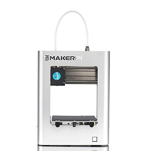 MakerPi 3D-Drucker M1 100X100X100mm Winziger/Mini-3D-Drucker mit einem Knopfdruck, einfache, leise Bedienung für Anfänger