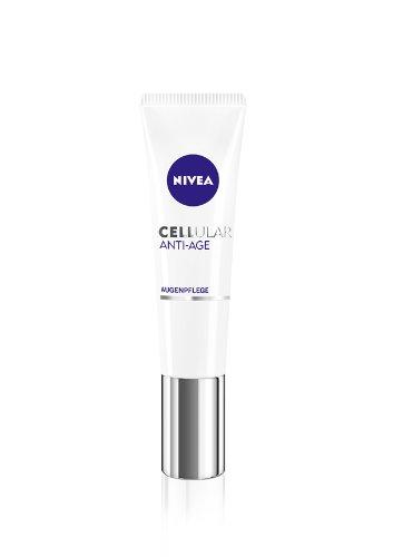 NIVEA Anti-Falten Augenpflege, 15 ml Tube, CELLular Anti-Age
