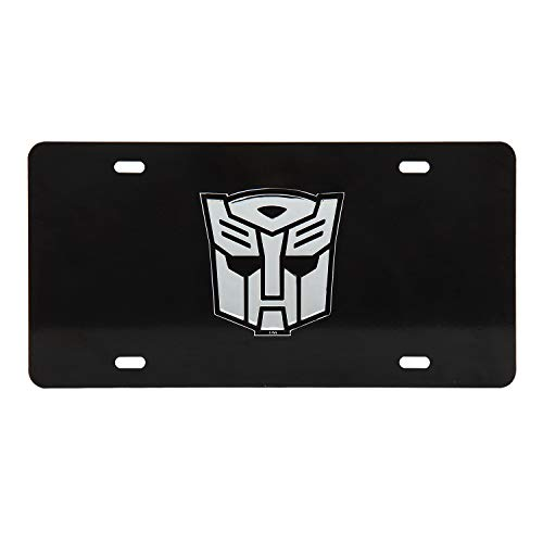 Pilot TRF-1101 Transformer Autobots 3D License Plate