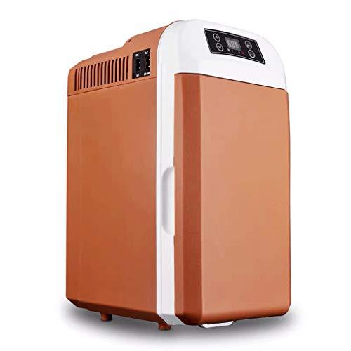 Mini Nevera,Mini Fridge, Mini refrigerador del coche 8L pequeño refrigerador con control de temperatura digital portátil compacto Enfriador Calentador de coches de Ministerio del Interior del dormitor