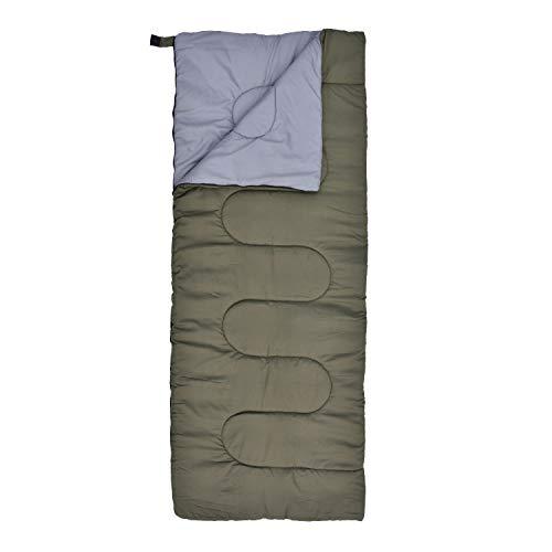 BUNDOK(バンドック) 封筒型 シュラフ BDK-59 寝袋 両面ファスナー 適応温度目安約10℃~
