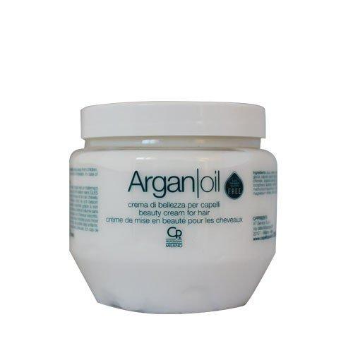 Argan Oil - Crema di Bellezza per Capelli - Trattamento Balsamo Professionale con Olio di Argan - Condizionante e Nutriente - 250 ml