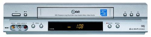 LG LV 4745 HiFi-Videorecorder Silber