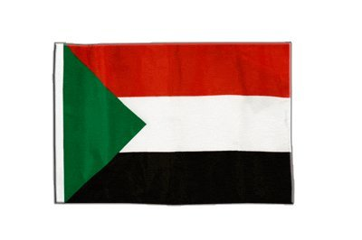 Flaggenfritze® Flagge Sudan - 30 x 45 cm