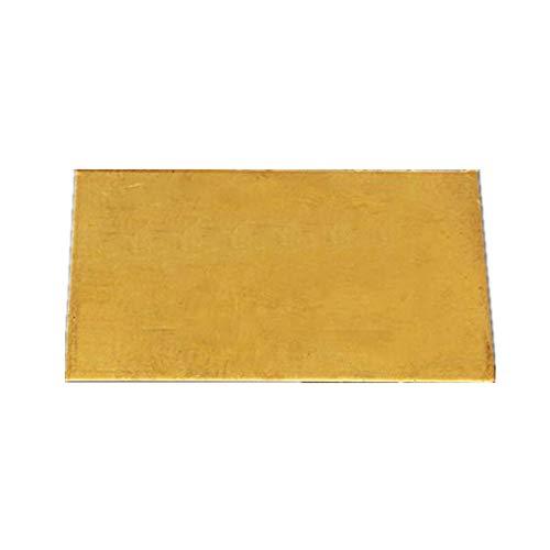 ExcLent 3Mmx60Mmx100Mm Messing Platte Industrie Diy Experiment Blatt