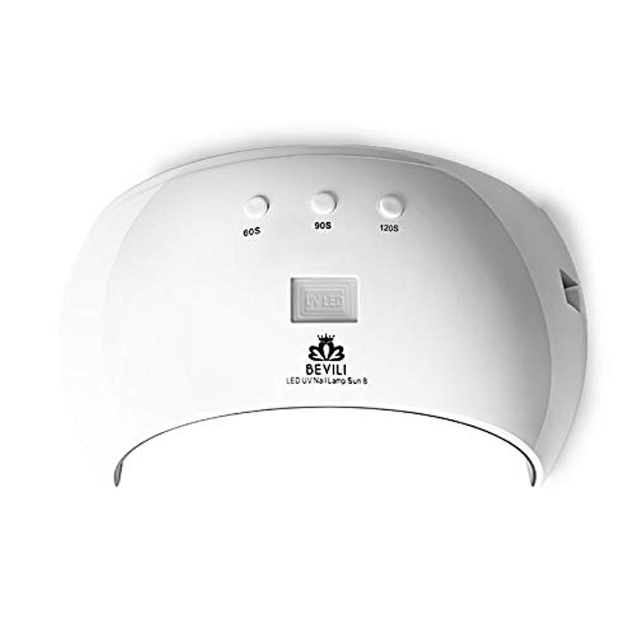 選ぶ包帯に話すMANOOBY 24W硬化用UVライト3段階タイマー& 自動センサー付きハイパワー ネイルドライヤー