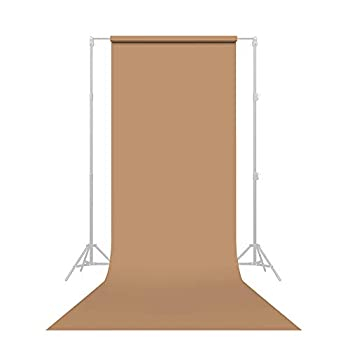 Savage Seamless Paper Photography Backdrop - #76 Mocha  53 in x 18 ft  Made in USA