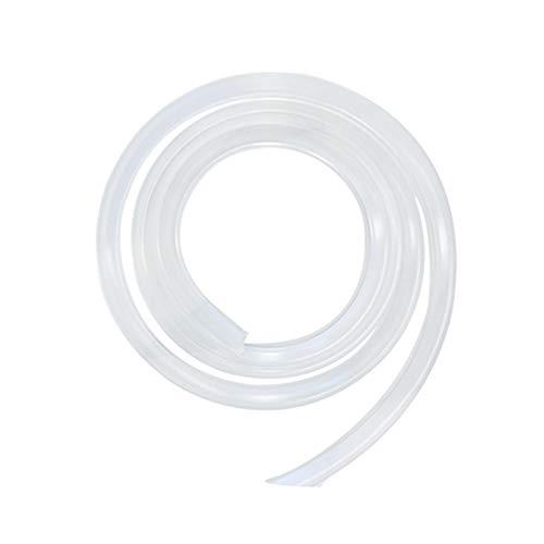 YOFASEN Protector Bordes - Protectores de Esquinas Ángulo Anticolisión PVC Transparente Protector Bordes Guardias Esquina para bebés y niños, claro, 1m