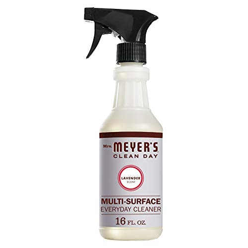 Mrs. Meyer's Clean Day Multi-Surface Everyday Cleaner, Lavender Scent, 16 ounce bottle