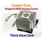 PartsCollection AMD Copper Core Heatsink Cooling Fan for Socket AM2 / AM3 / FM2