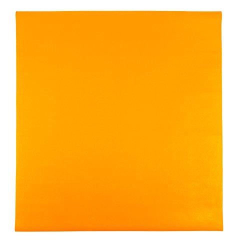 Yogilino® Krabbelmatte 180 x 180 cm in Deutschland hergestellt, orange