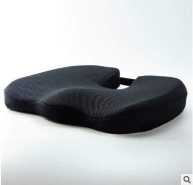 XiangY Sitzkissen,Stuhlkissen Hochwertige Memory Foam Rutsch-Kissen Pad Inventare, verstellbare Auto Sitz Kissen, Erwachsene Auto Sitz Booster Kissen
