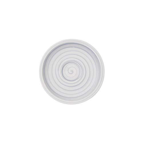 Villeroy & Boch Artesano Nature Bleu Soucoupe pour tasse à moka/expresso, 12 cm, Porcelaine Premium, Bleu