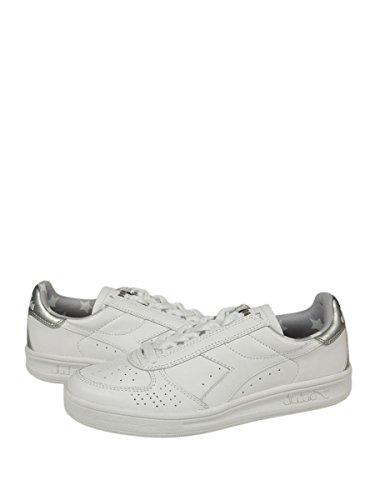 DIADORA heritage B.ELITE LIQUID sneakers donna in pelle - White, EUR 36