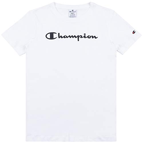 Champion Femme T-Shirts Legacy,S,Blanc
