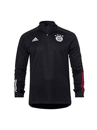 adidas Herren 20/21 FC Bayern Training Top Trainingsshirt, Black/Fcbtru, M