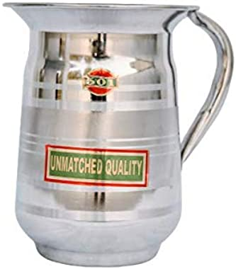 R.A. Stainless Steel Jug for Water for/Kitchen/Table(Capacity: 1500ML)