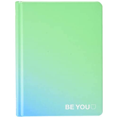 Be You Orginal Easy Diario Agenda, Formato Grande ma Mini, Collezione 2019/20, Green