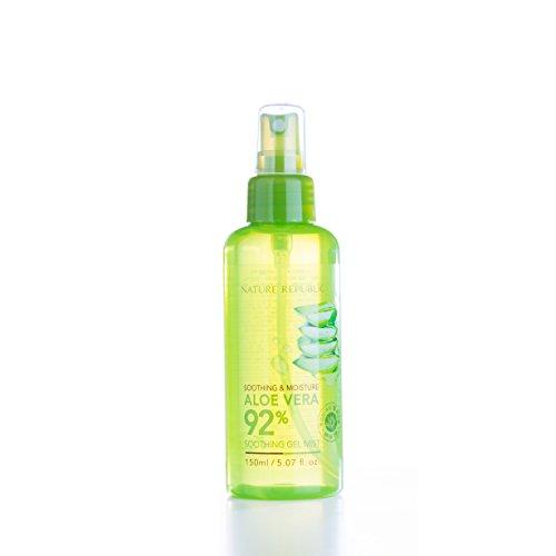 Nature Republic - Aloe Vera 92% - Soothing Gel Erfrischungsspray / Gesichtsspray