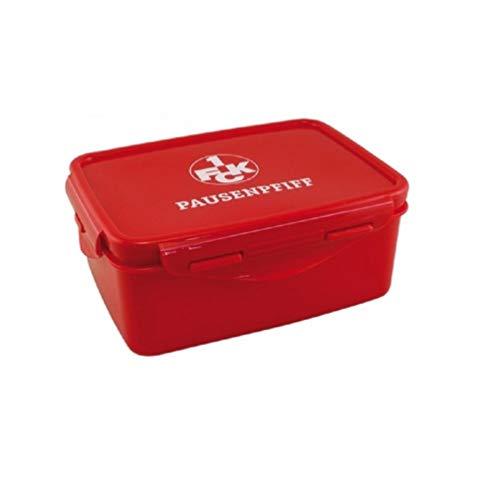 1. FC Kaiserslautern Brotdose, Lunchbox, Frühstücksbox, Vorratsdose FCK - Plus Lesezeichen I Love Kaiserslautern
