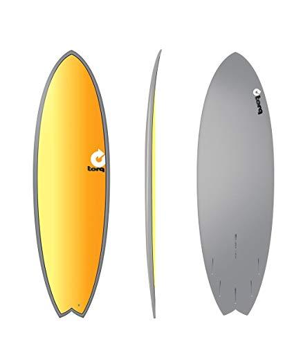 Tabla de surf TORQ Epoxy TET 5.11 Fish Full Fade