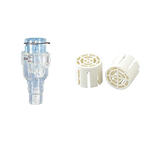 Inaba Denko DHB-1416 Soundproofing Valve for Air Conditioners and Insect Drain Cap, 2 Pieces DC-1416 [Set Purchase]