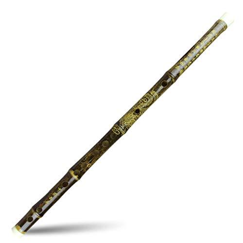 Dizi Bambusflöten Chinesische Zizhu Flöte Für Anfänger Schwarz Bambus Flöten Traditionelle Handgemachte Musikinstrument Factory Outlets Populäres Geschenk Querflöten