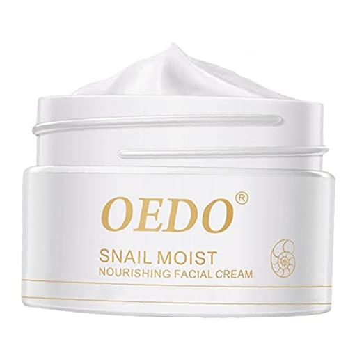 YepYes Caracol Crema Hidratación para Las Mujeres Blanqueadora Crema reafirmante de Belleza Cuidado de la Piel
